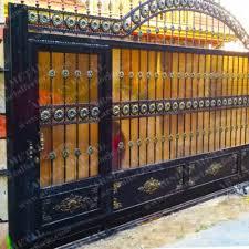 Ferforje Sürgülü Kapı