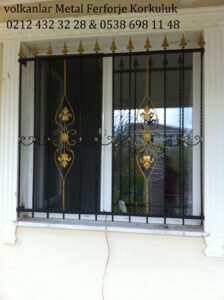 Gürpınar Pencere Demir Korkuluk